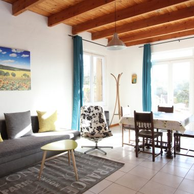 Living Room of Le Jardin