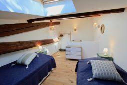 Schlafzimmer 2 - zwei Einzelbetten